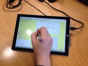 Erstes Proof-of-Concept: Das Surface von Microsoft